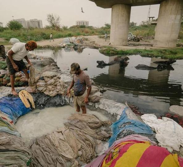 世界上环境污染最严重的城市之一印度德里