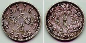 大清银币中各版龙纹银币皆为藏家汲汲寻求的目标