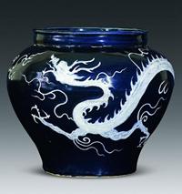 瓷器上形态各异的龙