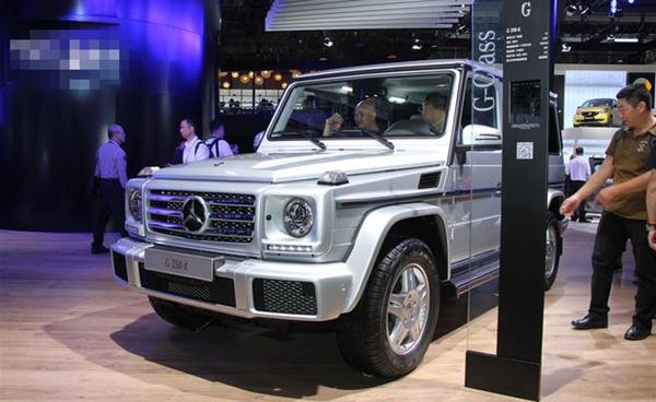 奔驰新款G级正式上市 推G500卓越版与G350d两款车型