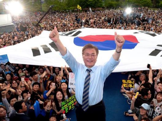 好事多磨!文在寅确认当选韩国总统