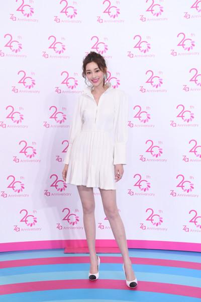 Za携品牌代言人盖玥希开启20周年趣玩粉红星系派对
