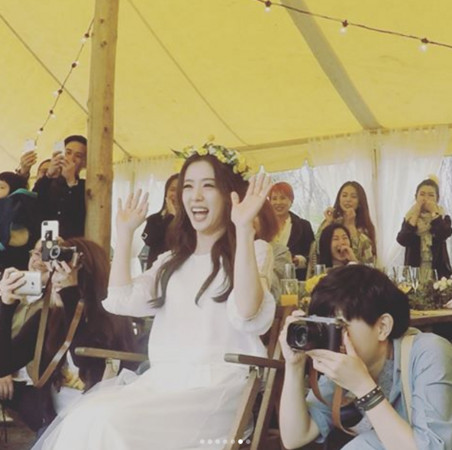 林宥嘉大婚办派对 丁文琪:快乐的快要跪下!