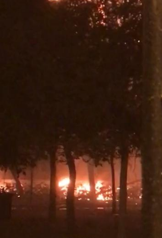 天津高校宿舍着火 原因正在进一步调查