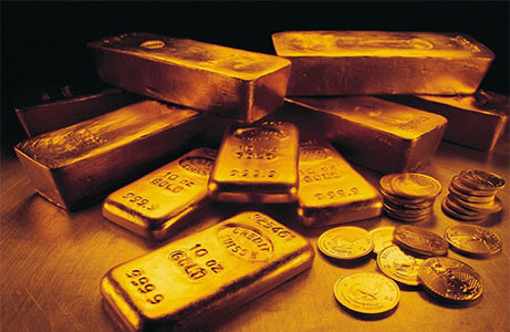 现货黄金价格上涨 因受到避险情绪支撑
