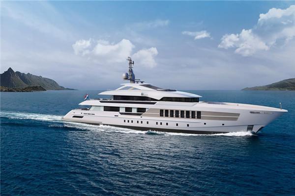 Heesen公布YN 18455全新55米高速动力游艇项目