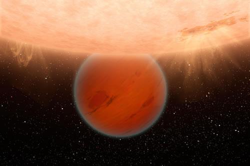海王星样系外行星重元素含量低 或是在其恒星附近完成的