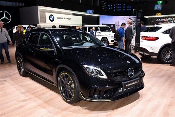 奔驰新款AMG GLA 45正式上市 新车售价57.90万元
