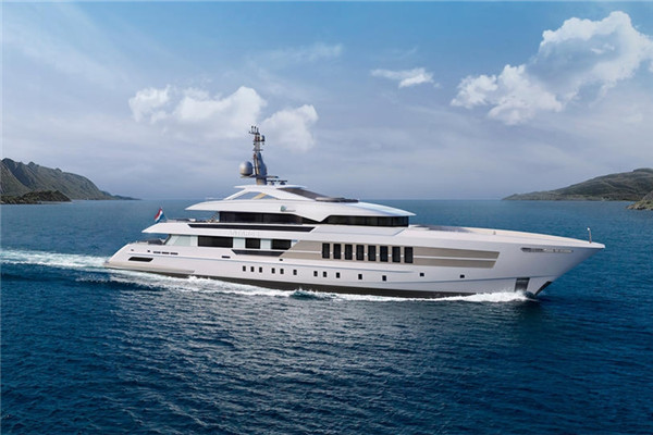 Heesen将于2018年交付55米Antares高速动力游艇