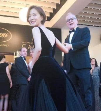 王珞丹戴迪奥顶级珠宝亮相戛纳电影节 丹式笑容秒杀无数菲林