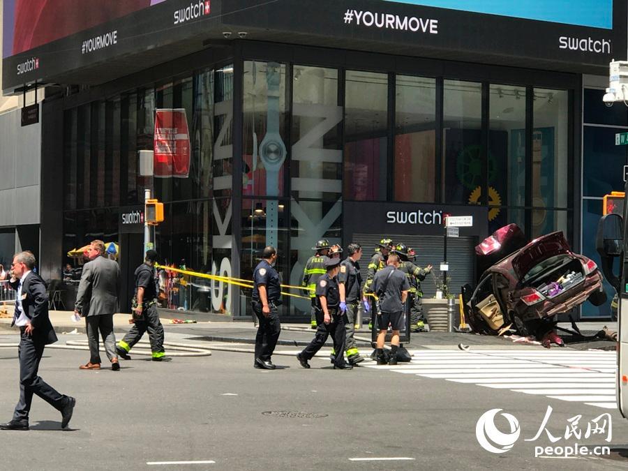 纽约退役士兵驾车冲撞行人 造成1死22伤