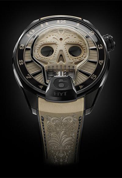 从未如此独特 HYT名表品牌推出全新Skull Vida系列腕表