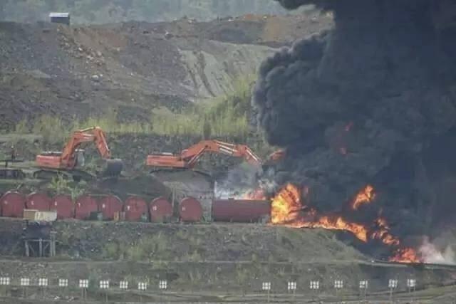 缅甸翡翠矿场发生大规模冲突事件 据传已致4人死亡11人受伤