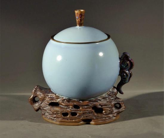 中国大师孔相卿:如何鉴赏和收藏钧瓷