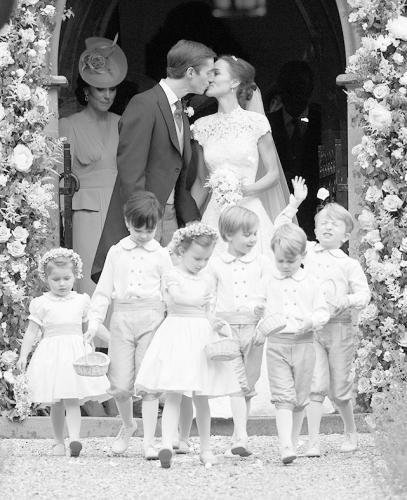 凯特王妃妹妹皮帕大婚 花童成亮点
