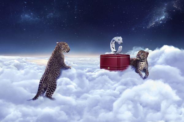 卡地亚高级珠宝经典猎豹系列 尽情展现野性之美动物之魅