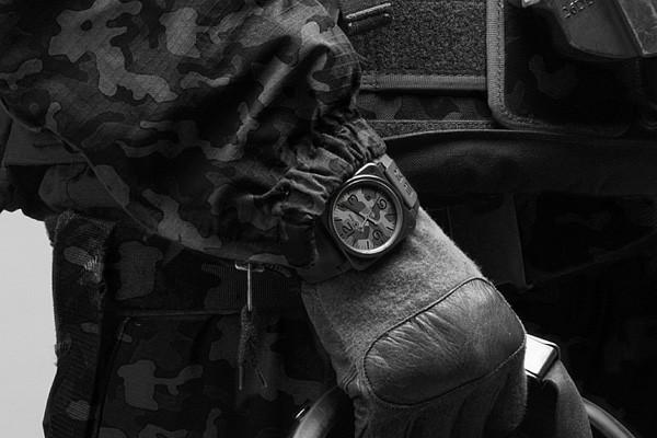 柏莱士名表品牌推出全新BR 03-92 Black Camo腕表