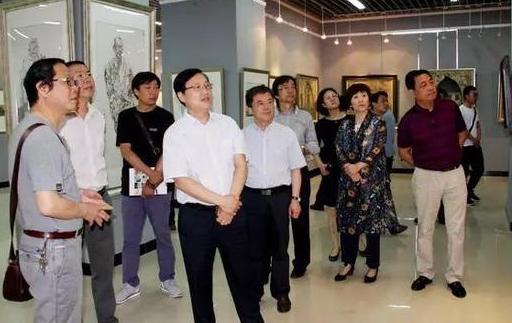河南省书画院写生展开幕