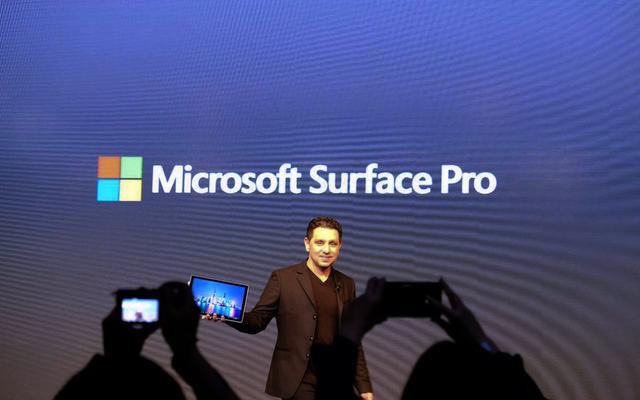 新Surface Pro发布 iPad Pro快至少 1.7 倍