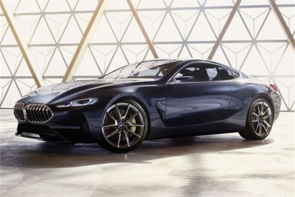 宝马全新8系概念车官图曝光 将于意大利正式发布