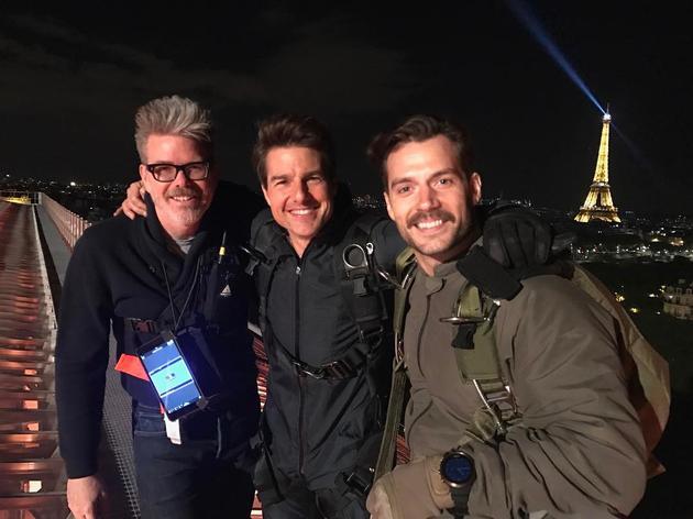 《碟中谍6》巴黎拍摄:不再是风景片