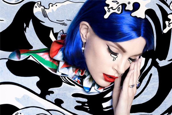 超模Jessica为《Harper's Bazaar》杂志拍摄时尚大片