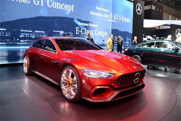 奔驰AMG GT概念车亮相 基于MRA平台打造