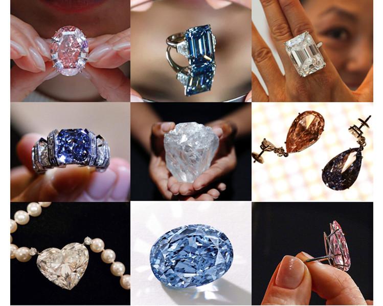 百闻不如一见 动辄上亿的天价钻石盘点