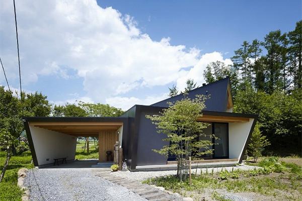 八岳山豪宅:凉爽的微风便能穿透整个住宅