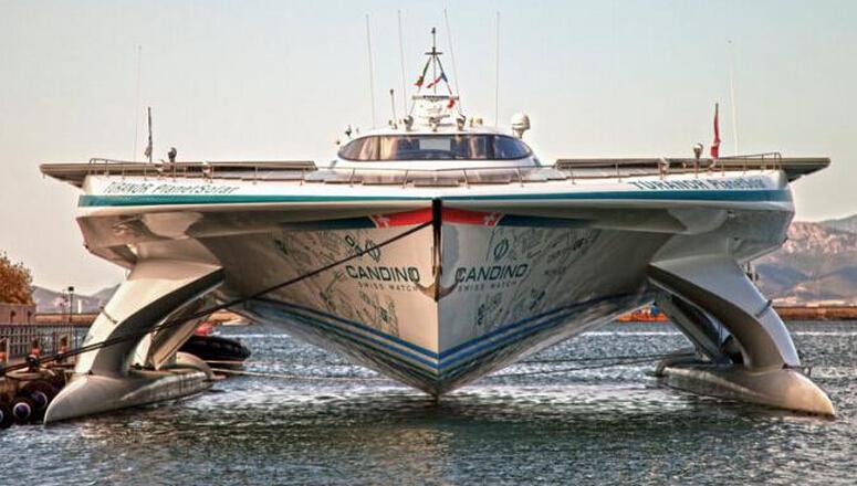 耗资一亿多元最大太阳能船 创造多项吉尼斯纪录