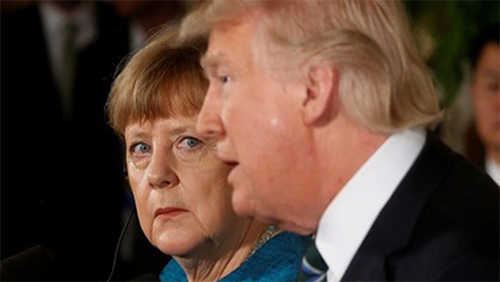 默克尔怒怼特朗普:美国不再值得信任