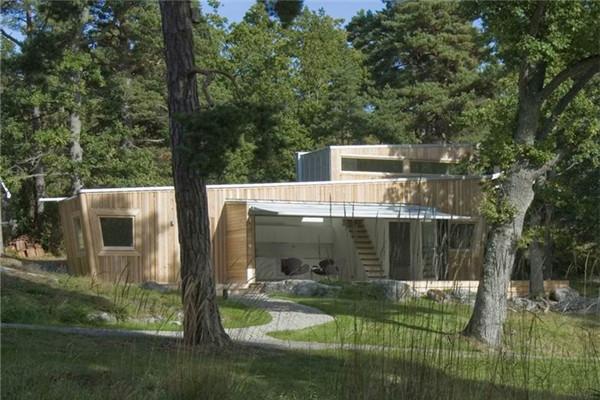 木式豪宅:材料均利用可持续发展的原料