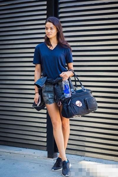 夏日服装流行趋势示范 三款裤子让你时髦不减分