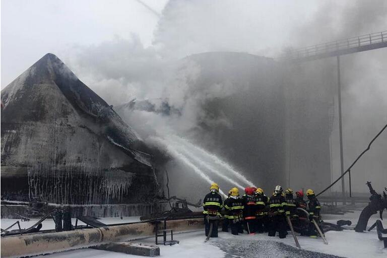 山东临沂石化爆炸最新消息:山东临沂石化公司爆炸8死9伤