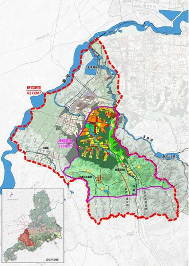 邀请国际一流规划设计机构参与规划编制,打造国内一流生态活力大学城