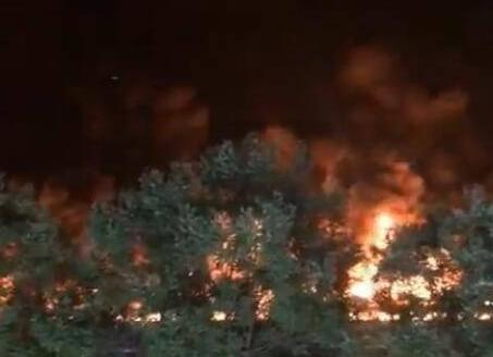 北京回龙观大火 无人员伤亡