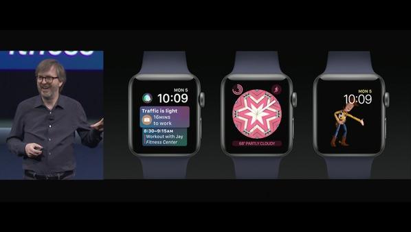 苹果开发者大会最新消息:watchOS 4引入全新的Siri表盘界面