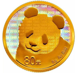 1982至2017年间发行过的熊猫金币周年纪念金币盘点介绍