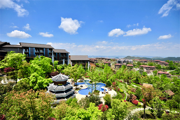 中国市场第三家 贵阳安纳塔拉度假酒店正式揭幕