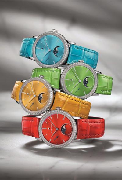 玩转时间色彩 真力时推出全新Elite系列腕表