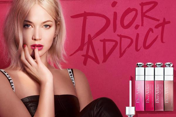 彩妆佳作 Dior携手詹妮弗推出全新刺青唇露