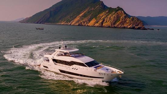 海星船厂交付首艘全新Asteria 96系列游艇