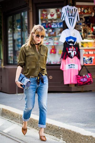 时尚大咖穿衣搭配技巧 高跟鞋+裤子提升时髦指数