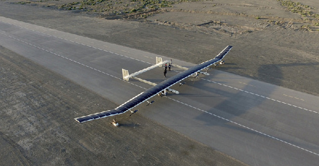 新型彩虹太阳能无人机试飞成功 中航科技集团新成果应用前景广阔