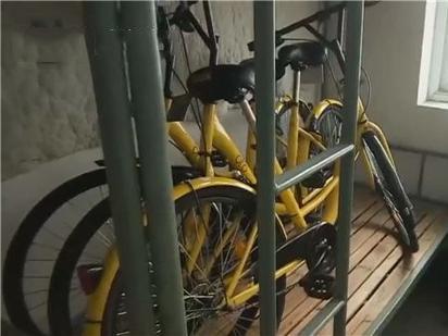 大学生将共享单车藏宿舍 学生的素质去哪了?