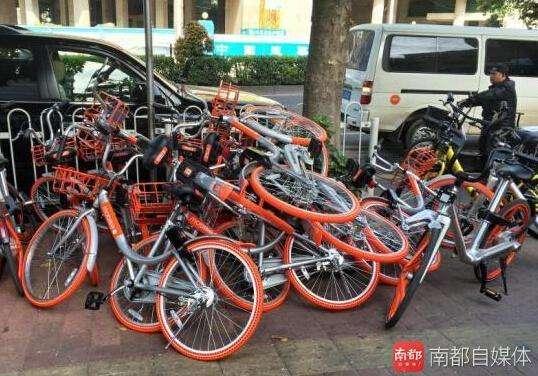物业起诉摩拜 首起因共享单车停放问题引发的民事案件