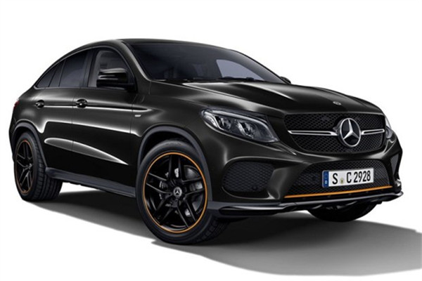 奔驰发布GLE 43 Coupe OrangeArt Edition特别版官图