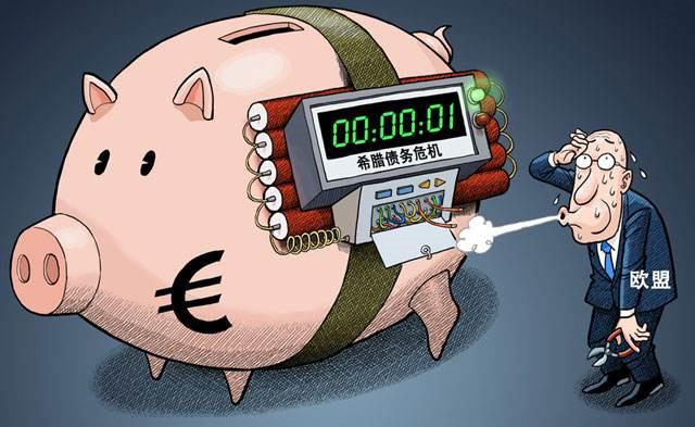 """希腊债务危机获""""续命草"""" 欧盟还留了这一手!"""