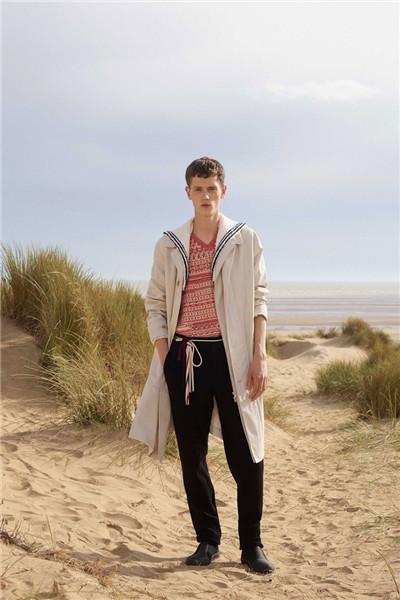 Pringle of Scotland服装品牌释出2018春夏男装系列