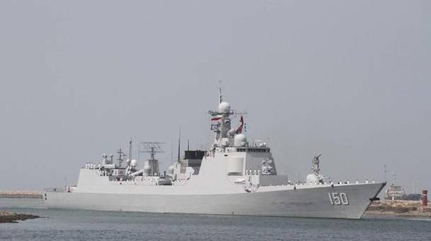 中国海军远航访问编队抵达伊朗 进行为其四天的友好访问